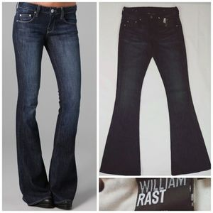 William Rast Ryley Flare jeans size 25 NWT